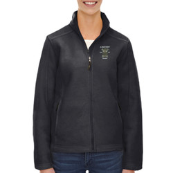 A-Batt Ladies Fleece Jacket