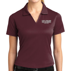 A-Batt Ladies Dri-Mesh Polo