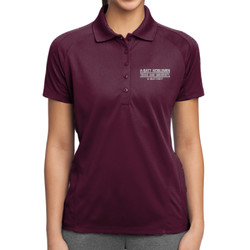 A-Batt Mom Dri-Mesh Polo